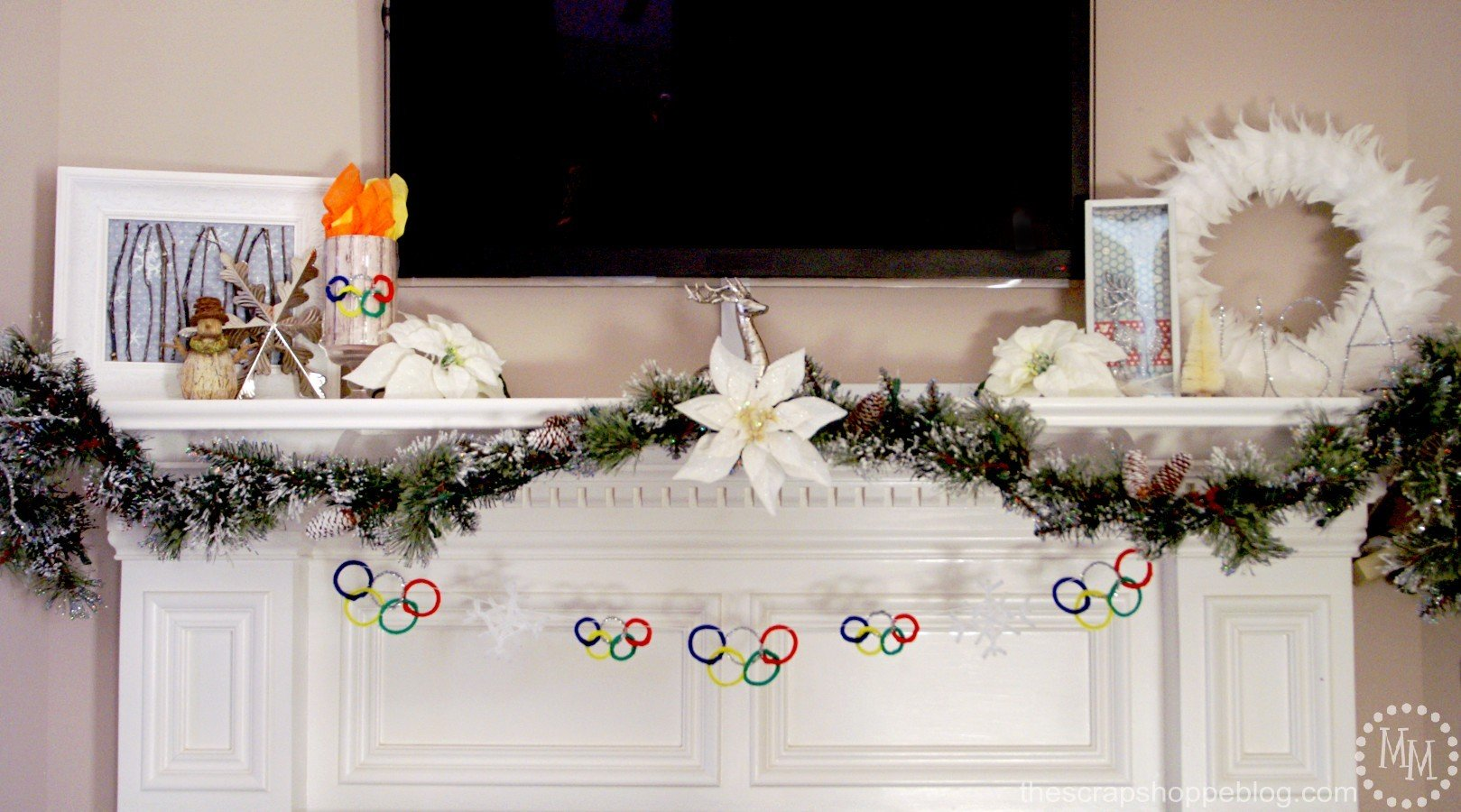 Chenille Winter Olympic Rings