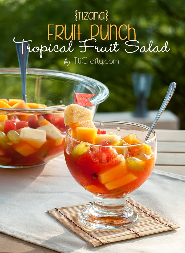 Tropical Fruit Salad via Titi Crafty
