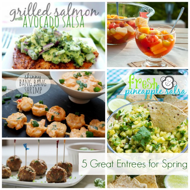 Five Amazing Spring Entrees