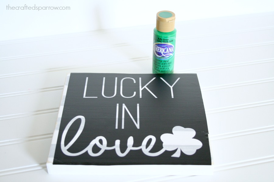 Lucky In Love Sign 11