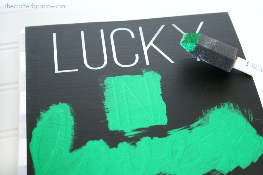 Lucky In Love Sign 12
