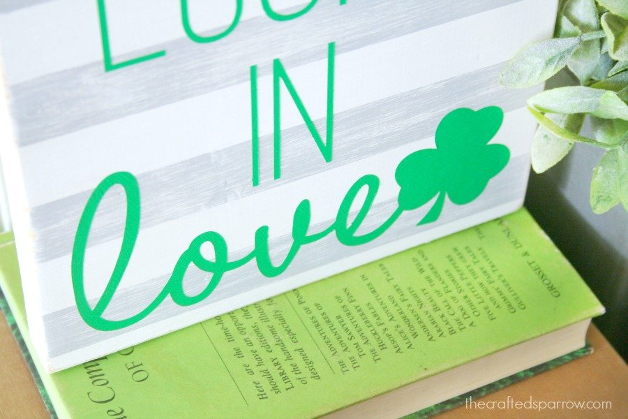 Lucky In Love Sign 3
