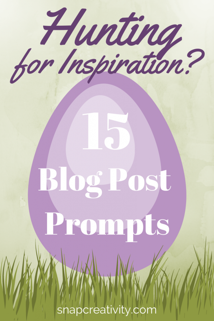 15 Blog Post Prompts