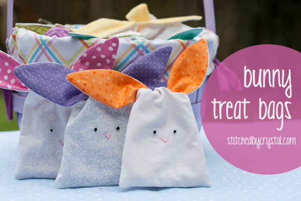 Bunny treat bags - make your own!