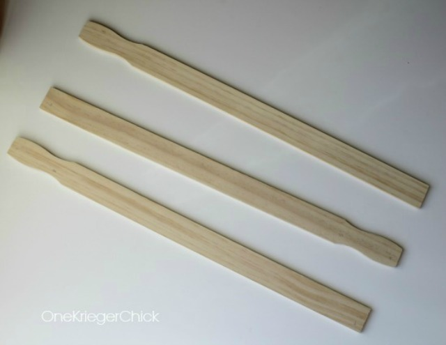 paint stick arrows
