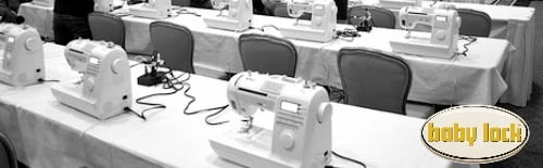 Sewing Room at Snap Conference