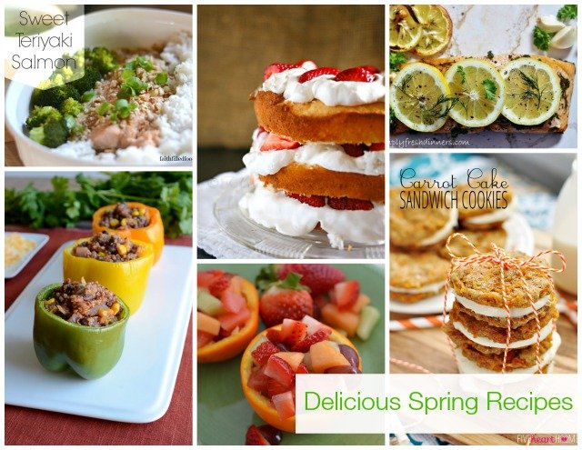 Delicious Spring Recipes via @snapconf #recipe #spring
