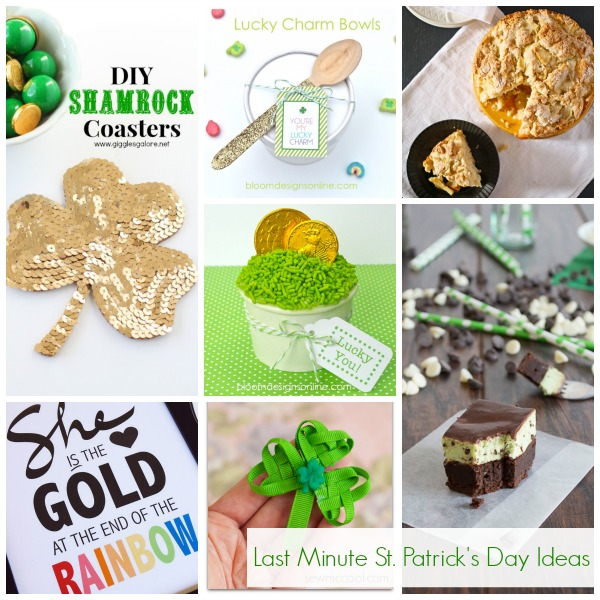 Show + Tell: Last Minute St. Patrick's Day IDeas