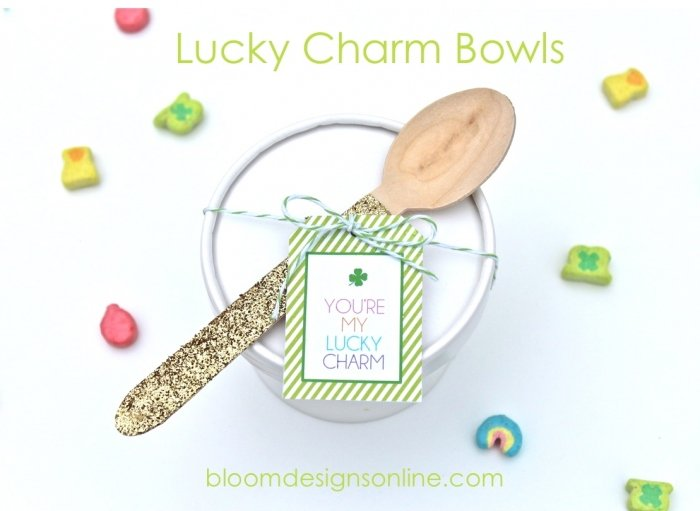 Lucky Charm Bowls via Bloom Designs