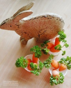 Mini Spring Carrots for Spring Entertaining