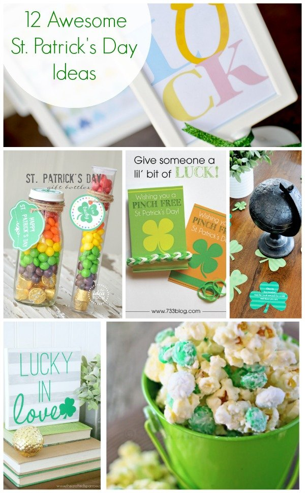 12 St. Patrick's Day Ideas