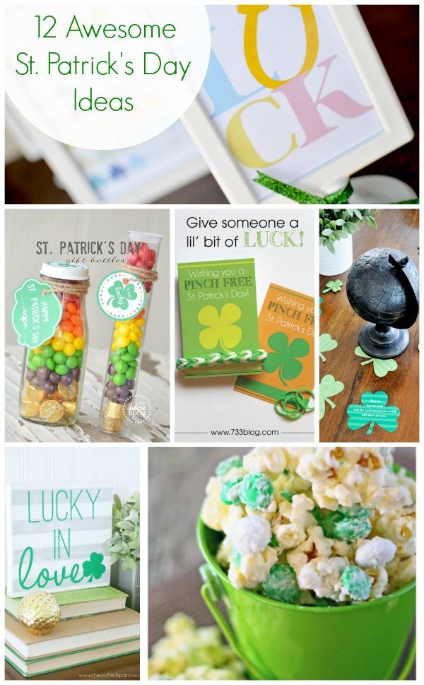 Show Tell St Patrick S Day Ideas Tauni Everett