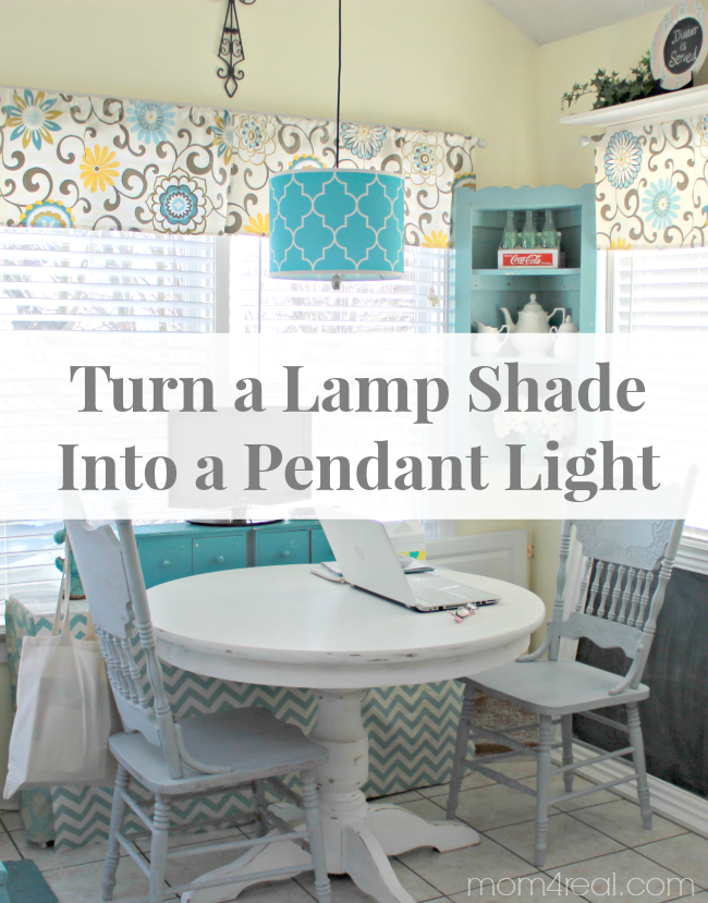 Turn a lamp shade into a pendant light tauni co aloadofball Image collections