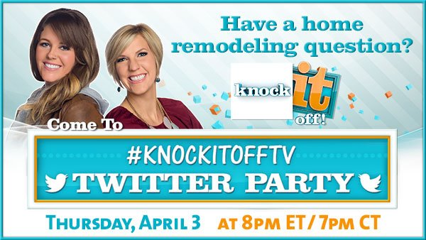 #KnockItOffTV Twitter Party With Live Well Network
