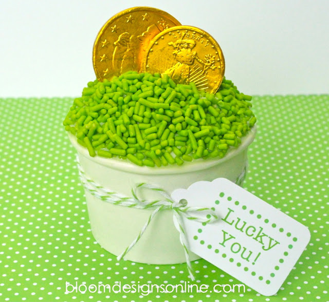 Leprechaun Cups via Bloom Designs