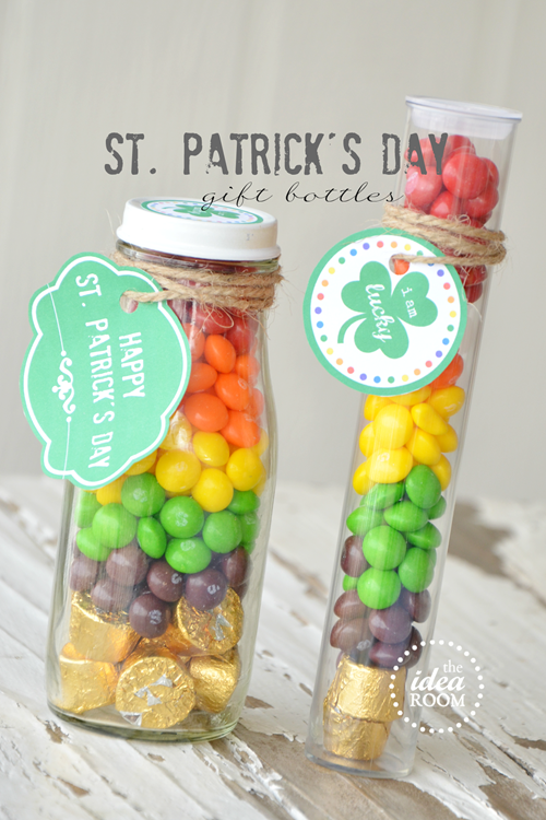 St. Patrick's Day Gift via The Idea Room