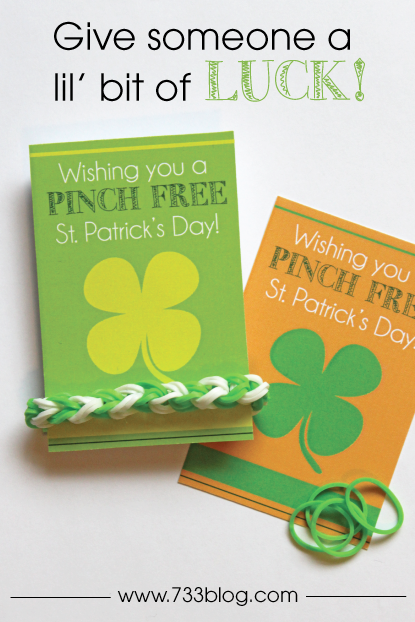 St. Patrick's Day Card via 733
