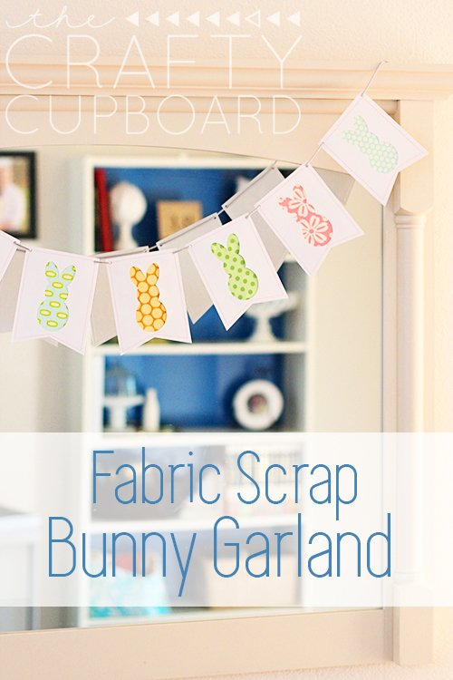 Easter-Bunny-Garland-with-Fabric-Scraps