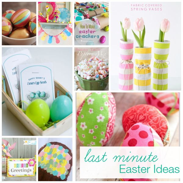 Show + Tell: Last Minute Easter Ideas