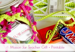 Mason Jar Teacher Gift H