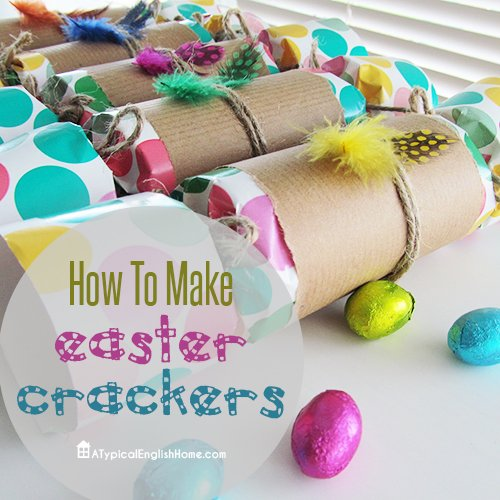 Easter crackers via A Typical English Home