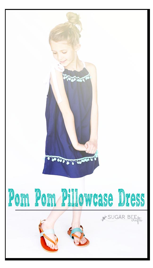 Pom Pom Pillowcase Dress