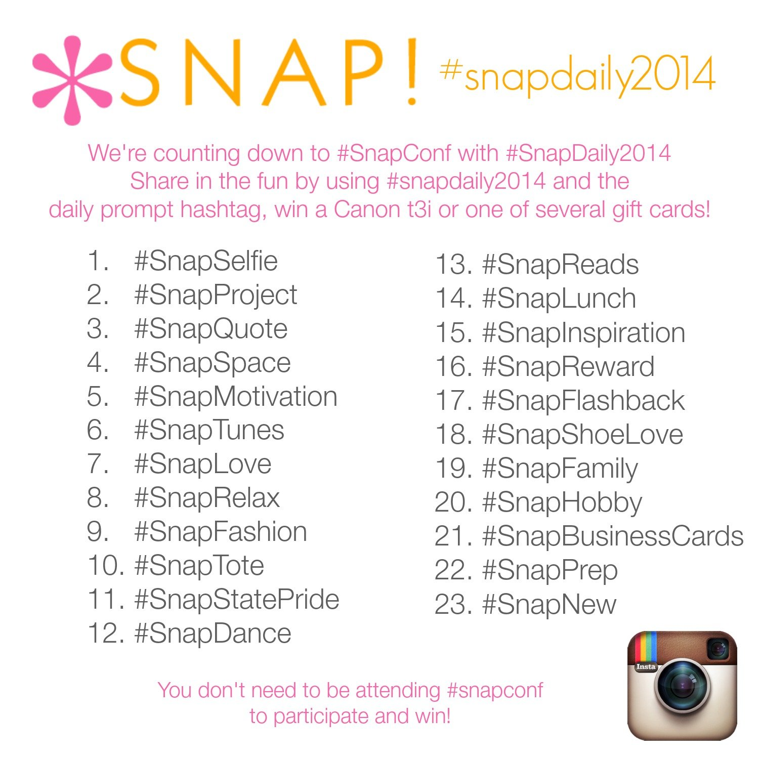 Instagram at Snap #SnapDaily2014