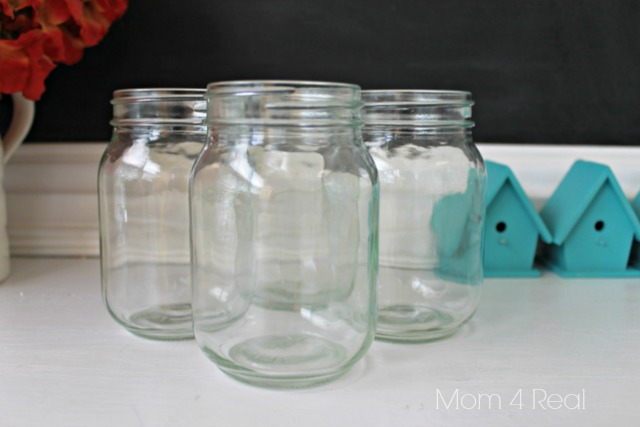 Stenciled-Mason-Jar-Tumblers-Before