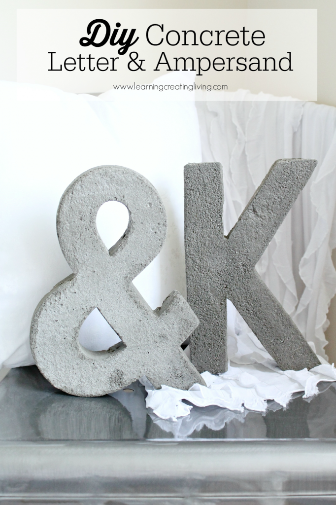 Concrete Letters via Learning Creating Living