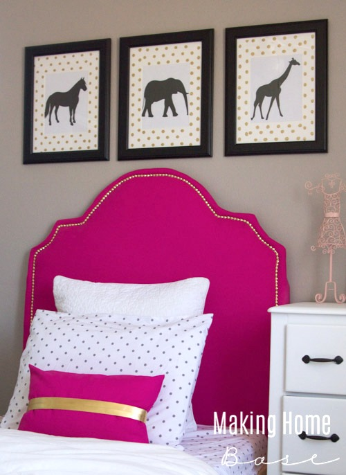 DIY-Headboard via Making Home Base