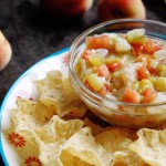 Delicious and Easy Peach Salsa