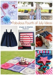 Fabulous Fourth of July Ideas via @snapconf #fourthofjuly #patriotic