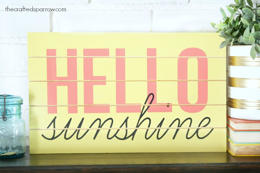 DIY Summer Sign
