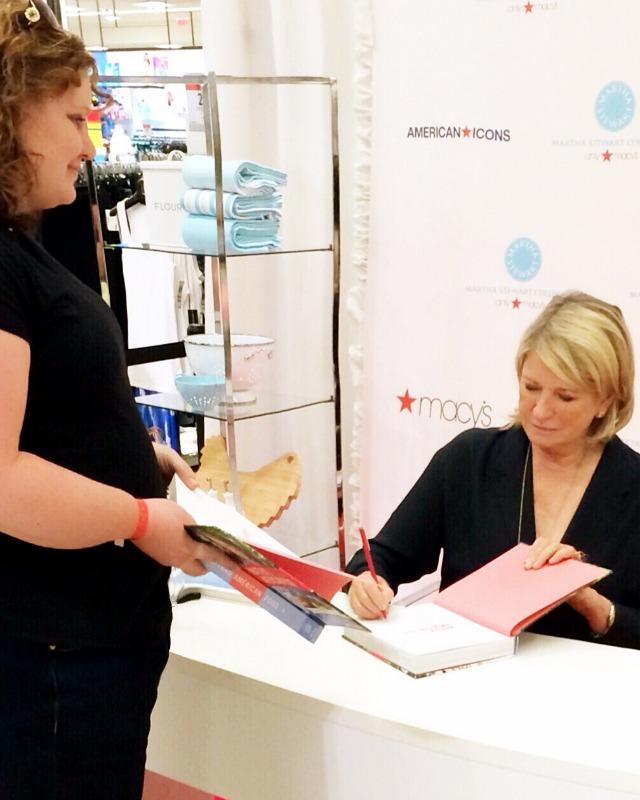 Martha Stewart Book Signing Salt Lake City via @snapconf