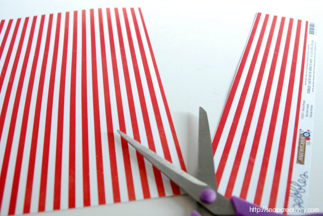 Fourth of July Firecracker Decor via @snapconf #patriotic #FourthofJuly #upcycle