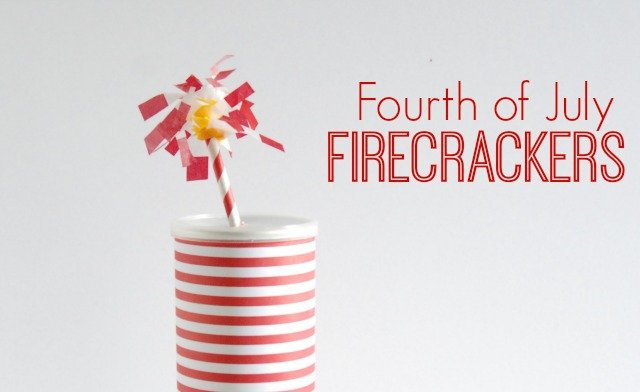 Fourth of July Paper Firecrackers