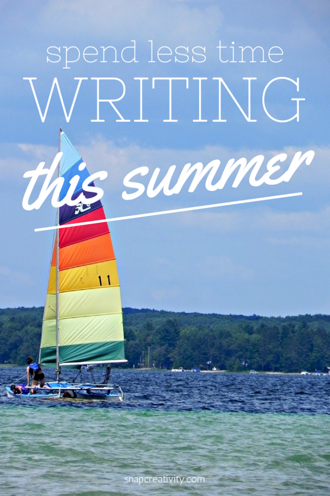 Spend Less Time Writing This Summer
