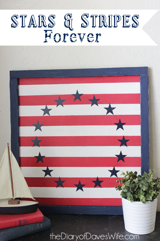 Stars and Stripes Art