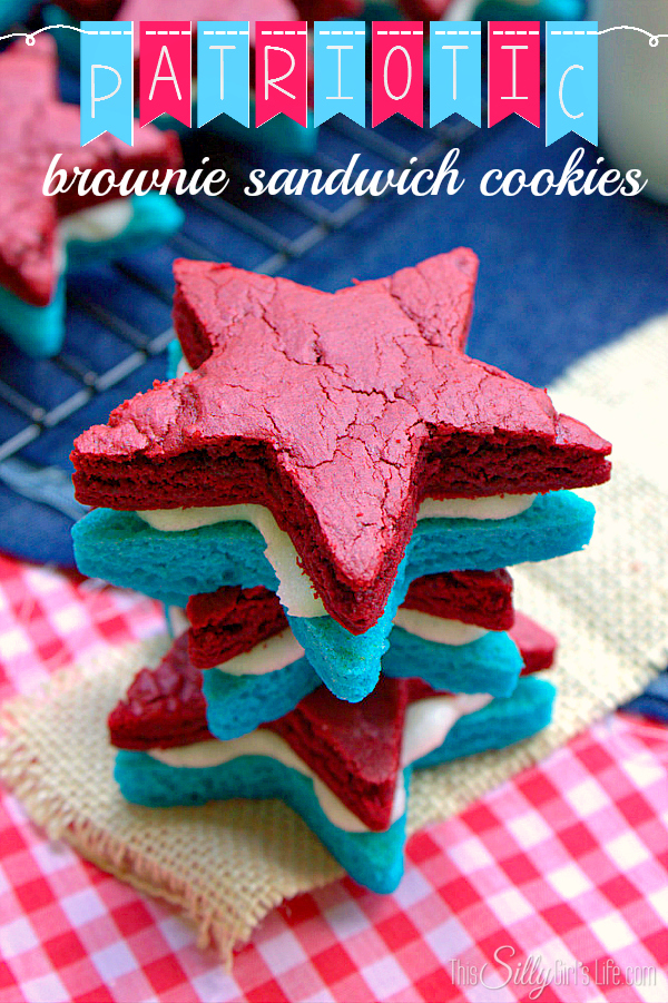 Patriotic Sandwich Cookies
