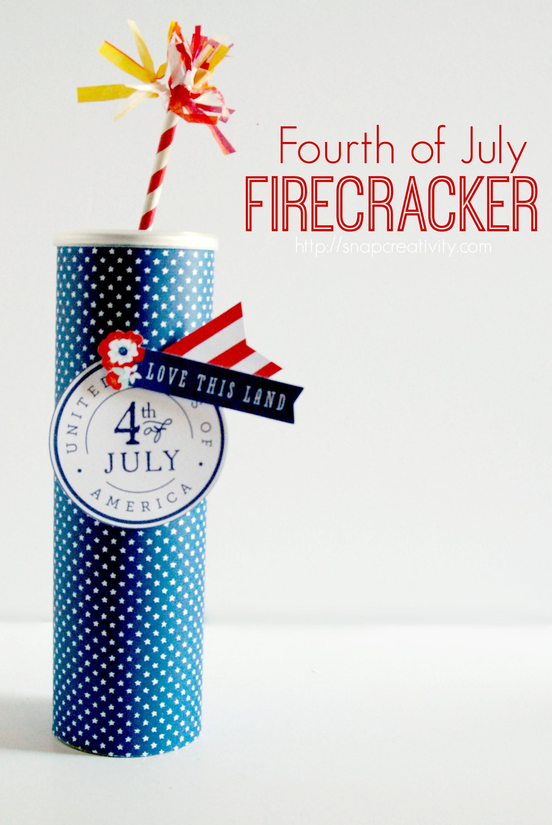how to make a paper firecracker