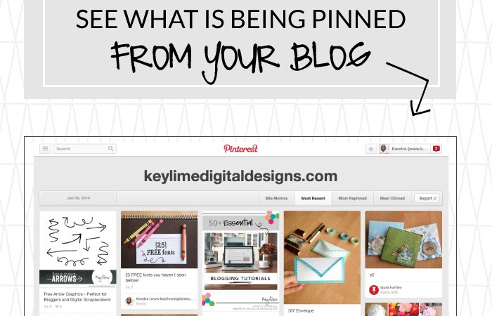 How to See What is Being Pinned From Your Blog