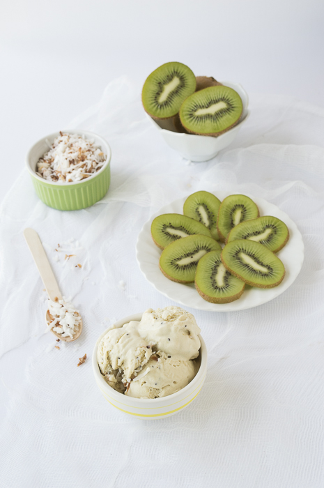Kiwi Coconut Ice Cream