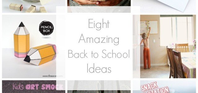 Eight of the BEST back-to-school ideas for 2014 via @SnapConf