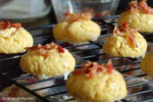 Maple Bacon Cookies via @SnapConf #recipe #dessert