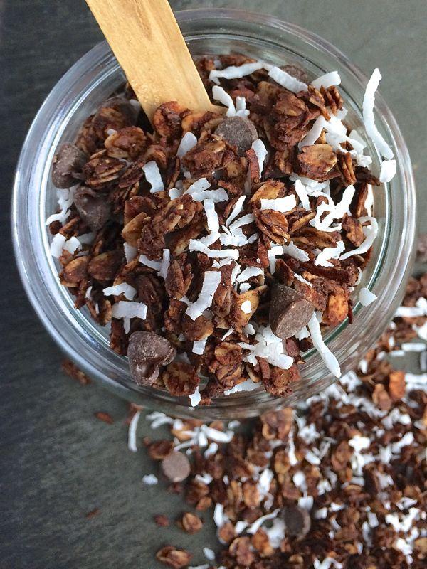 Almond Joy Granola via @thelemonbowl Check out even more great granola recipes @SnapConf