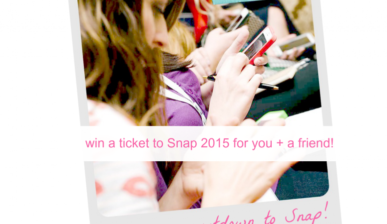 Snap 2015 Ticket Giveaway
