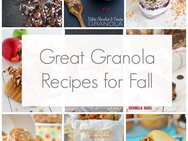12 Great Granola Recipes for Fall