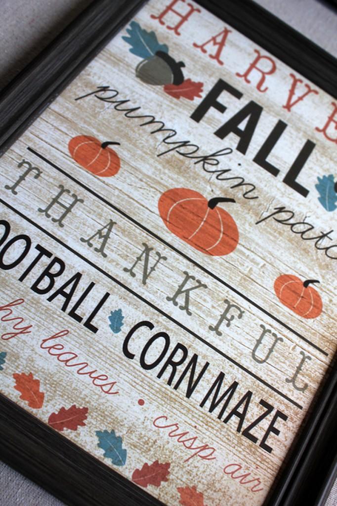 Quick #Fall Wall Art #HomeDecor #SamanthaTaylor-001