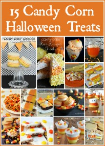 15 Candy Corn Halloween Treats