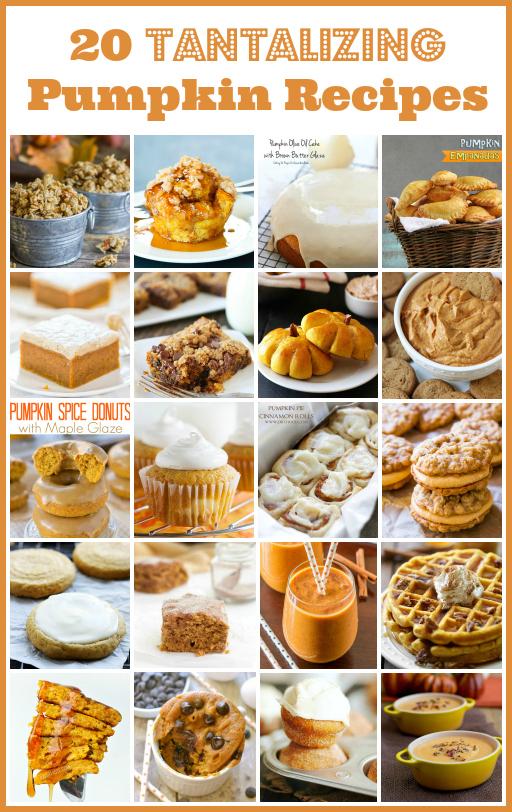 20 Tantalizing Pumpkin Recipes via Snap